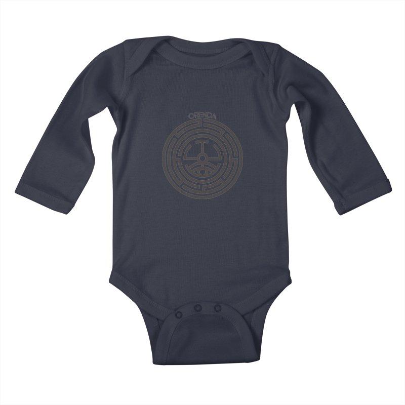 The Life Rune Kids Baby Longsleeve Bodysuit by hristodonev's Artist Shop