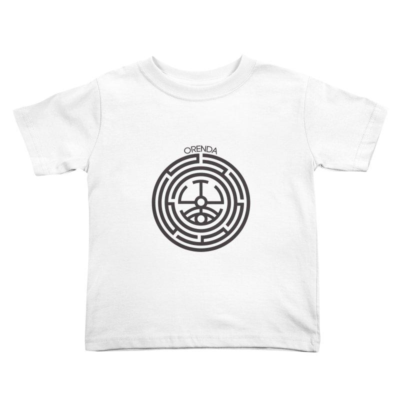 The Life Rune Kids Toddler T-Shirt by hristodonev's Artist Shop