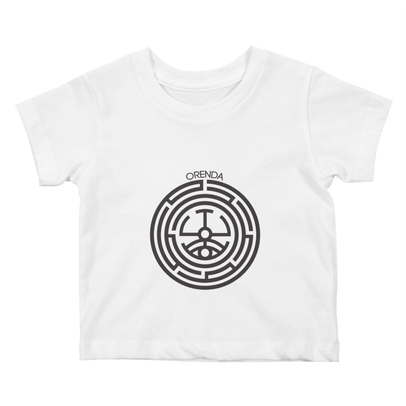 The Life Rune Kids Baby T-Shirt by Hristo's Shop