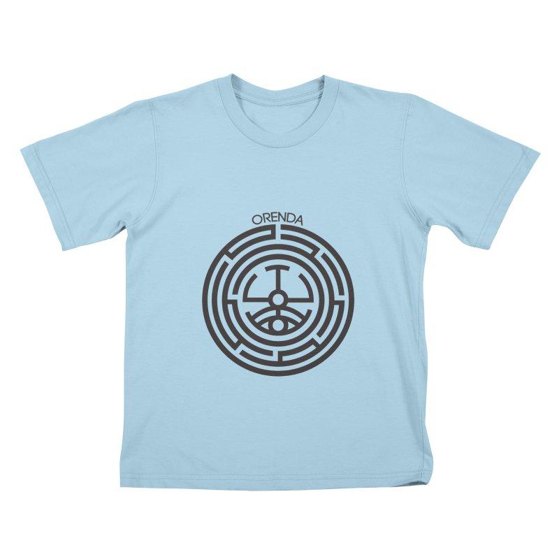 The Life Rune Kids T-shirt by hristodonev's Artist Shop