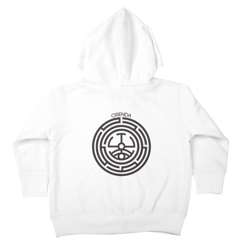 The Life Rune Kids Toddler Zip-Up Hoody by Hristo's Shop