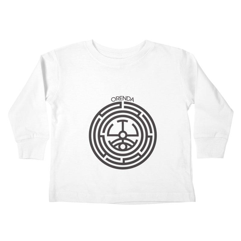 The Life Rune Kids Toddler Longsleeve T-Shirt by hristodonev's Artist Shop