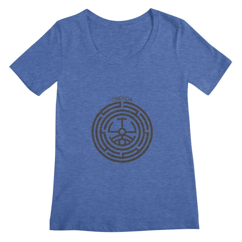 The Life Rune Women's Scoopneck by Hristo's Shop