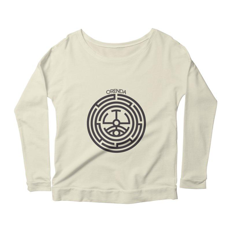 The Life Rune Women's Scoop Neck Longsleeve T-Shirt by Hristo's Shop