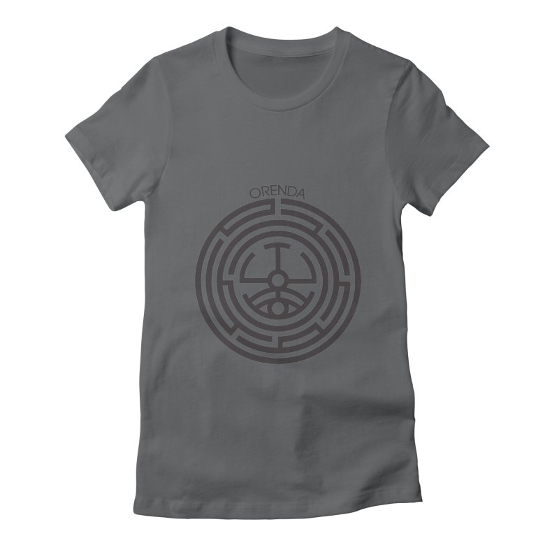 The Life Rune Women's Fitted T-Shirt by hristodonev's Artist Shop