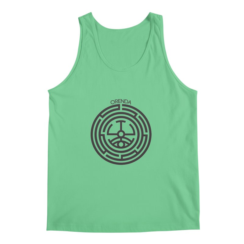 The Life Rune Men's Tank by Hristo's Shop