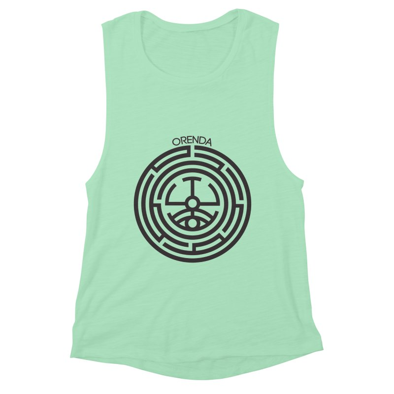 The Life Rune Women's Muscle Tank by Hristo's Shop