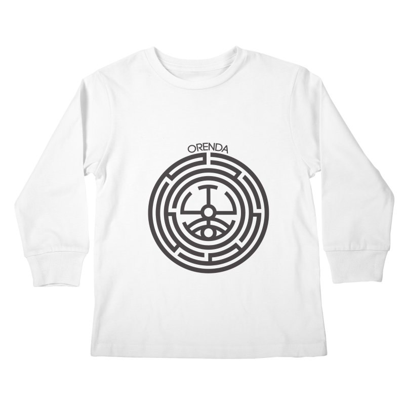 The Life Rune Kids Longsleeve T-Shirt by Hristo's Shop
