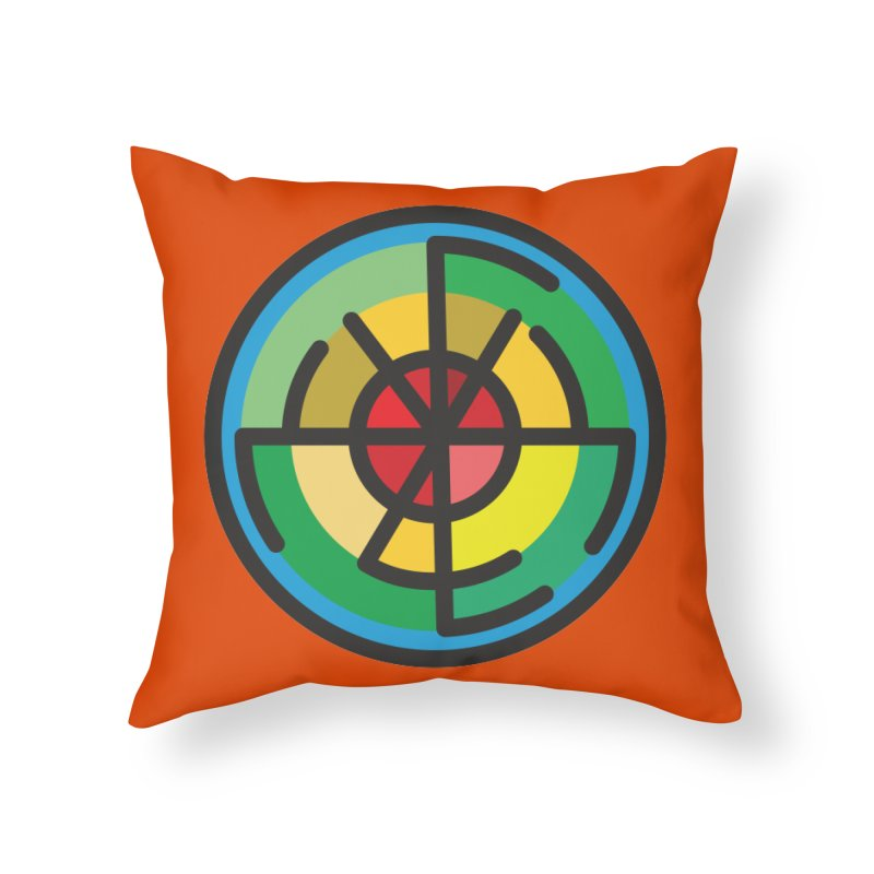 Orenda Blessing Home Throw Pillow by Hristo's Shop