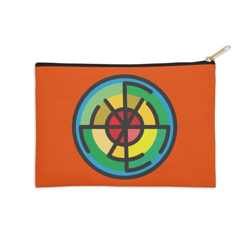 Orenda Blessing Accessories Zip Pouch by hristodonev's Artist Shop