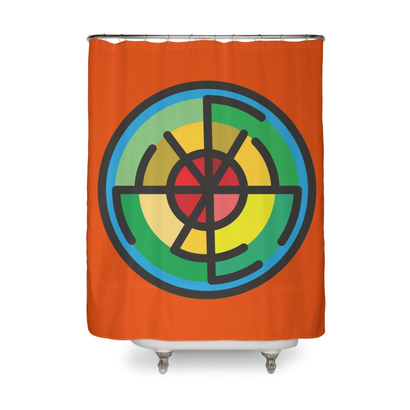 Orenda Blessing Home Shower Curtain by Hristo's Shop