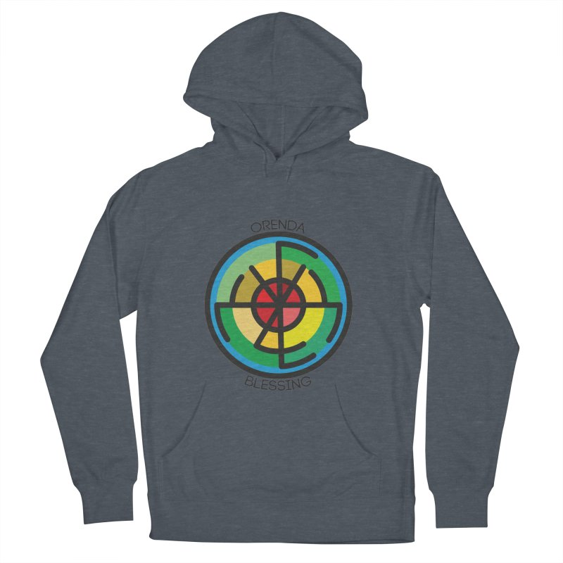 Orenda Blessing Men's French Terry Pullover Hoody by Hristo's Shop