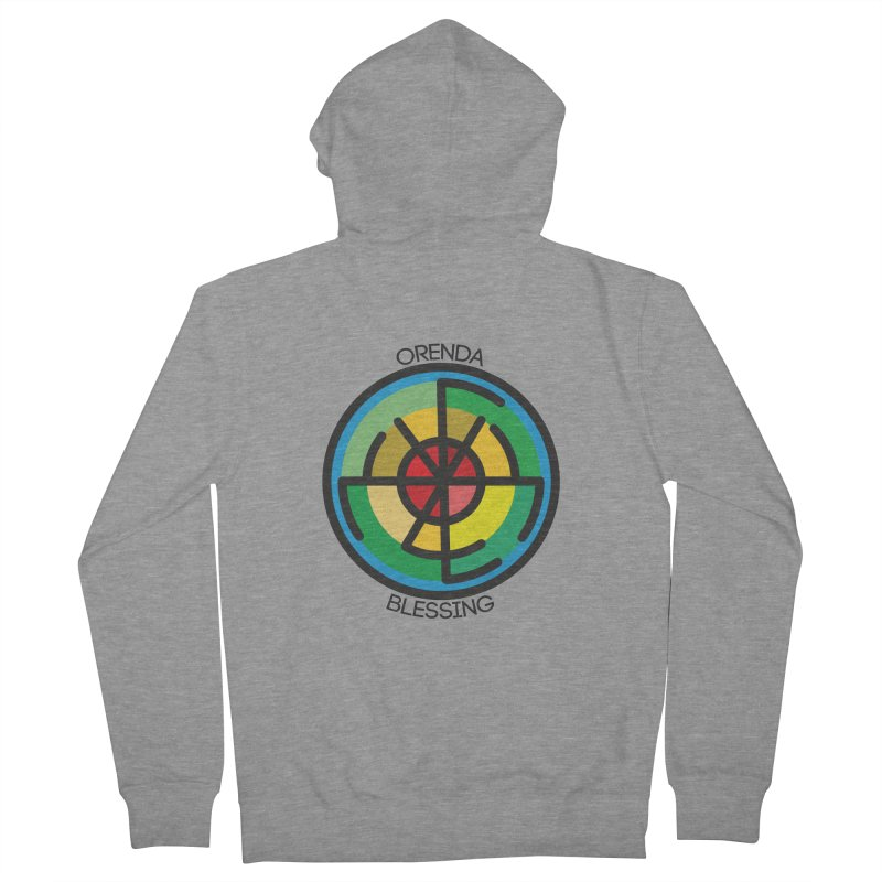 Orenda Blessing Men's Zip-Up Hoody by hristodonev's Artist Shop