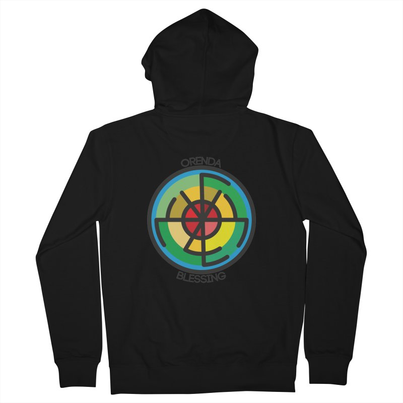 Orenda Blessing Men's Zip-Up Hoody by Hristo's Shop