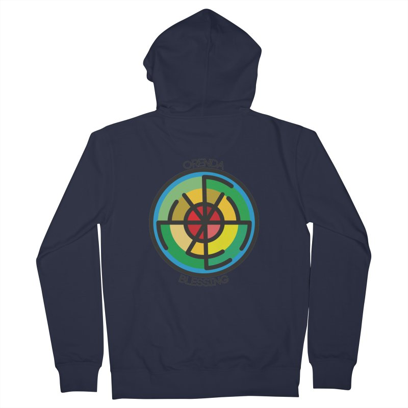 Orenda Blessing Men's French Terry Zip-Up Hoody by Hristo's Shop