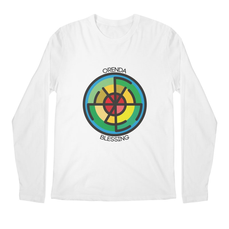 Orenda Blessing Men's Regular Longsleeve T-Shirt by Hristo's Shop