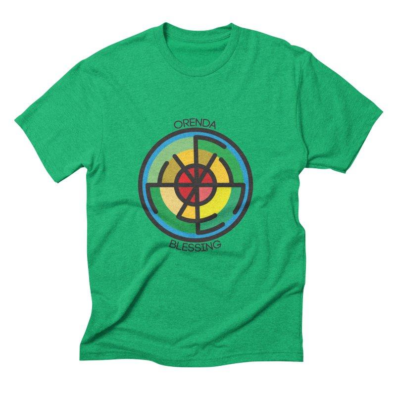 Orenda Blessing Men's Triblend T-Shirt by Hristo's Shop