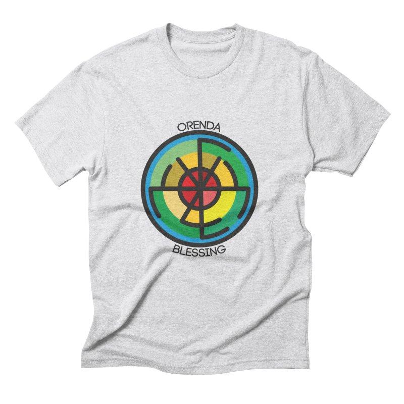 Orenda Blessing Men's Triblend T-shirt by hristodonev's Artist Shop