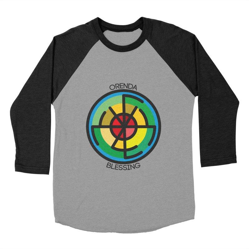 Orenda Blessing Women's Baseball Triblend T-Shirt by Hristo's Shop