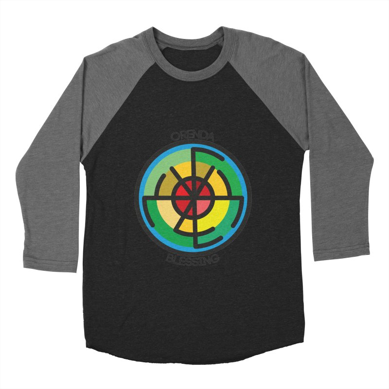 Orenda Blessing Men's Baseball Triblend T-Shirt by Hristo's Shop