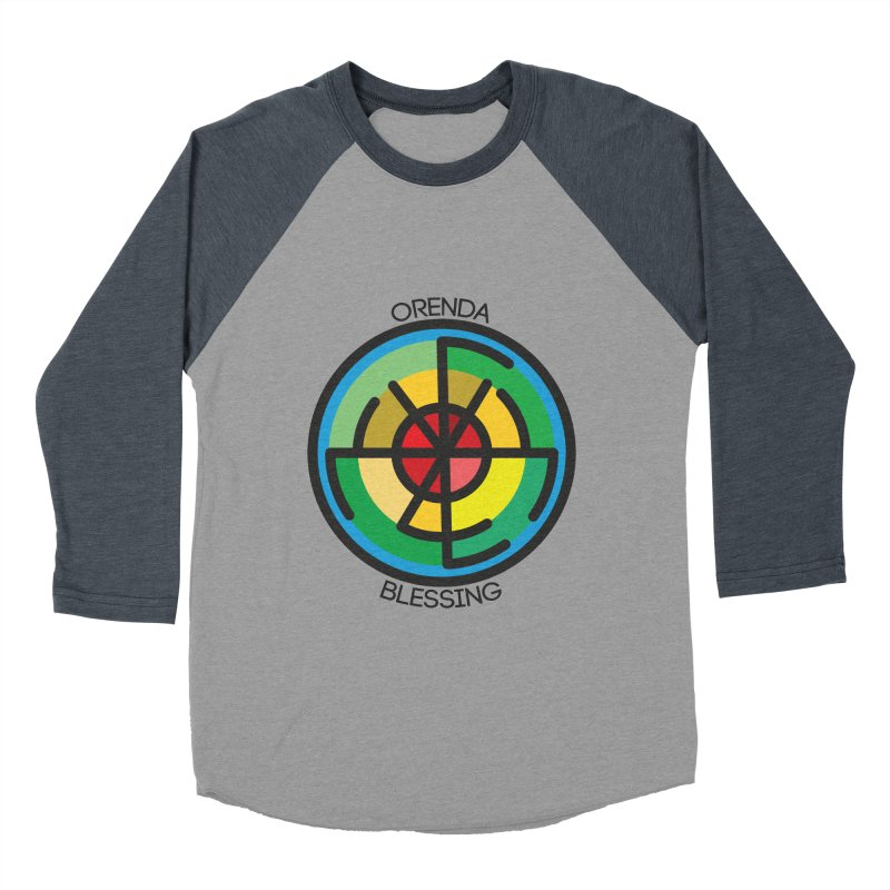 Orenda Blessing Men's Baseball Triblend Longsleeve T-Shirt by Hristo's Shop