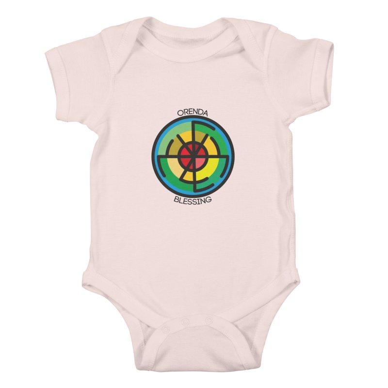 Orenda Blessing Kids Baby Bodysuit by hristodonev's Artist Shop