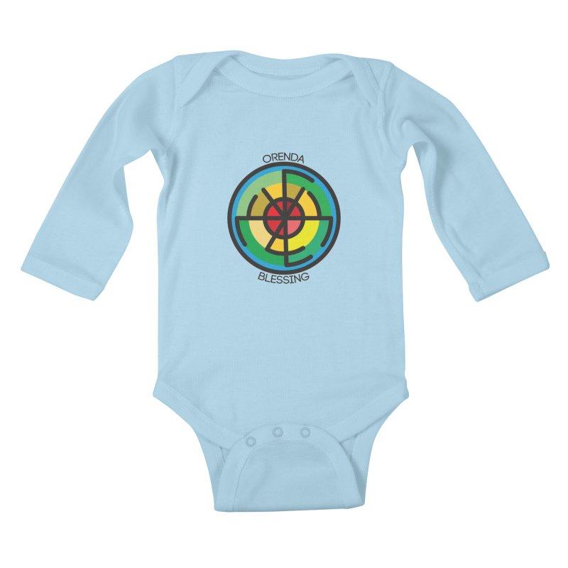 Orenda Blessing Kids Baby Longsleeve Bodysuit by hristodonev's Artist Shop
