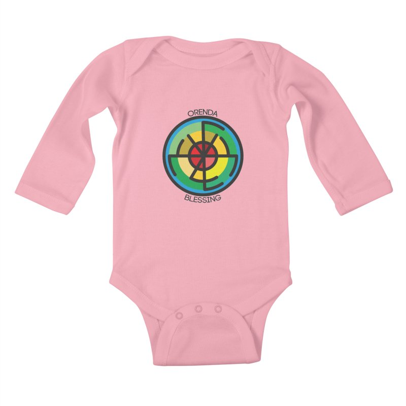 Orenda Blessing Kids Baby Longsleeve Bodysuit by Hristo's Shop