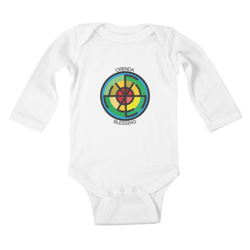 Orenda Blessing Kids Baby Longsleeve Bodysuit by Hristo's Shop