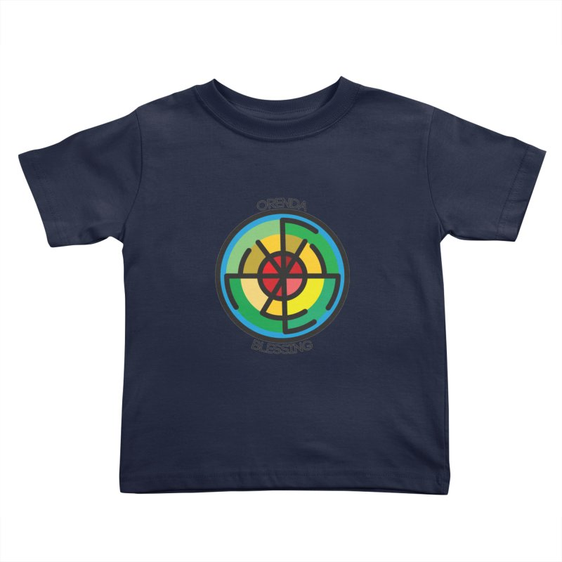 Orenda Blessing Kids Toddler T-Shirt by Hristo's Shop