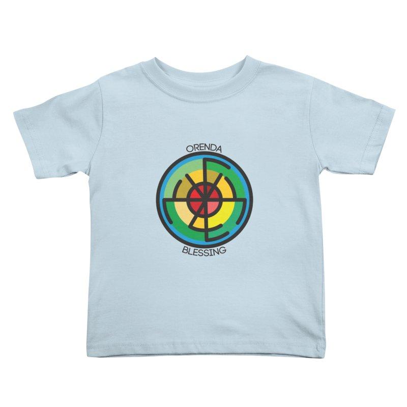 Orenda Blessing Kids Toddler T-Shirt by hristodonev's Artist Shop