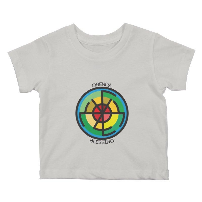 Orenda Blessing Kids Baby T-Shirt by Hristo's Shop