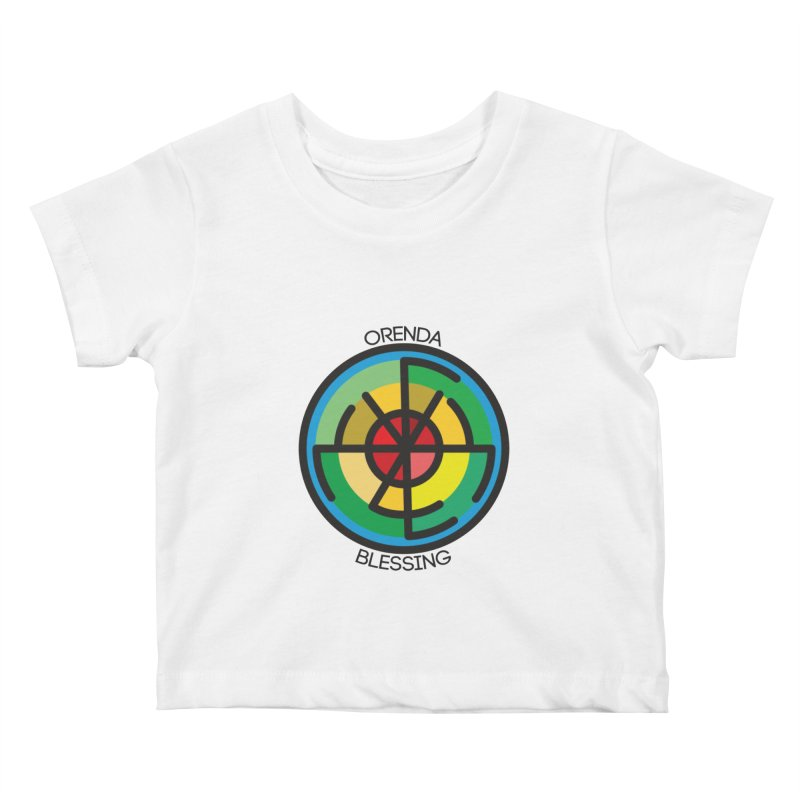 Orenda Blessing Kids Baby T-Shirt by Hristo's Shop