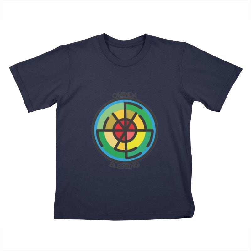 Orenda Blessing Kids T-shirt by hristodonev's Artist Shop