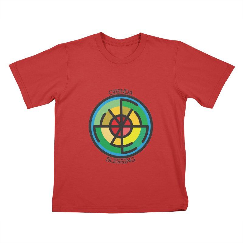 Orenda Blessing Kids T-Shirt by Hristo's Shop
