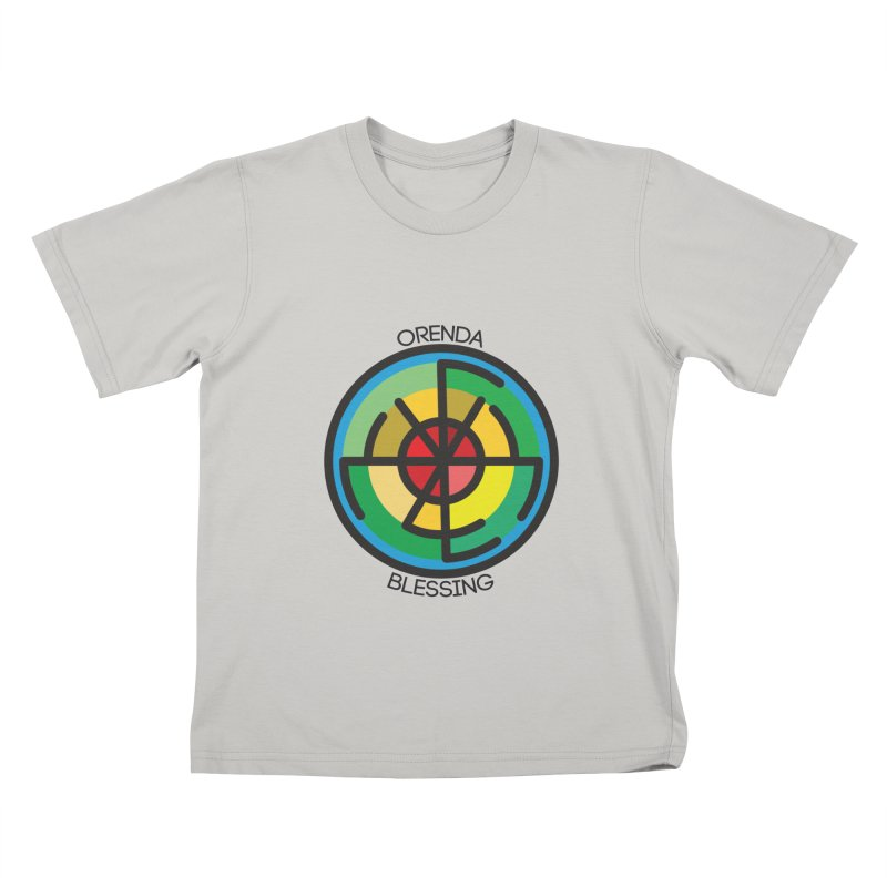 Orenda Blessing Kids T-Shirt by Hristo's Shop
