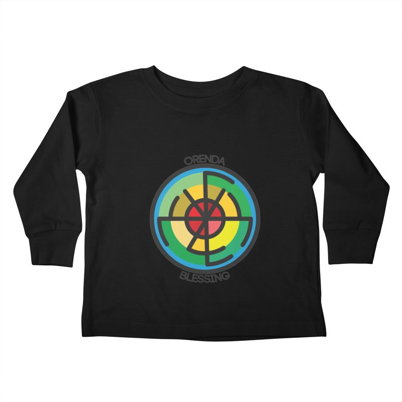 Orenda Blessing Kids Toddler Longsleeve T-Shirt by Hristo's Shop