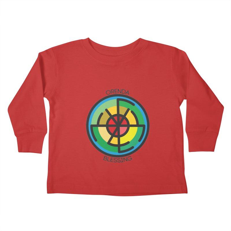 Orenda Blessing Kids Toddler Longsleeve T-Shirt by hristodonev's Artist Shop