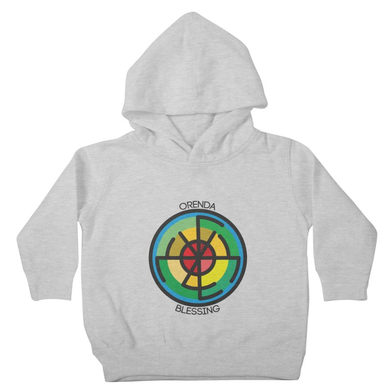Orenda Blessing Kids Toddler Pullover Hoody by Hristo's Shop