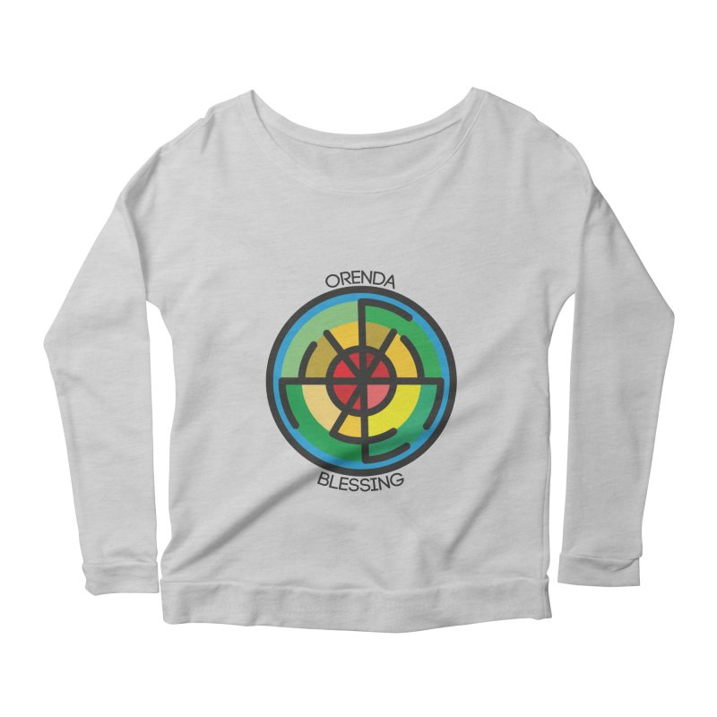 Orenda Blessing Women's Longsleeve Scoopneck  by hristodonev's Artist Shop