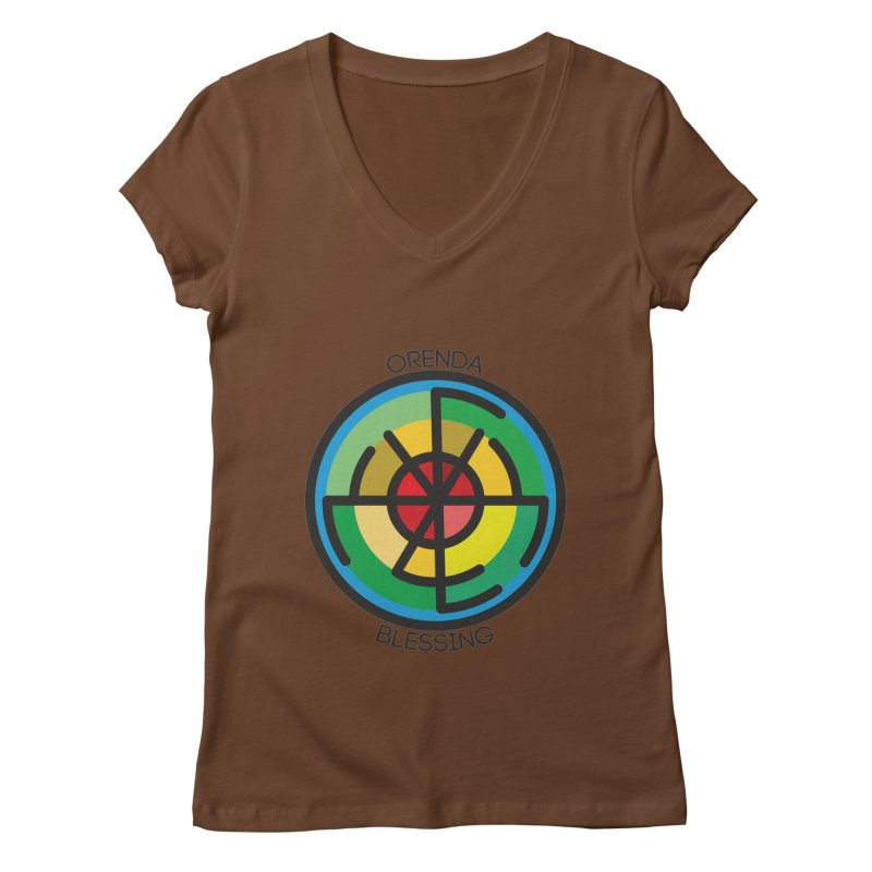 Orenda Blessing Women's Regular V-Neck by Hristo's Shop