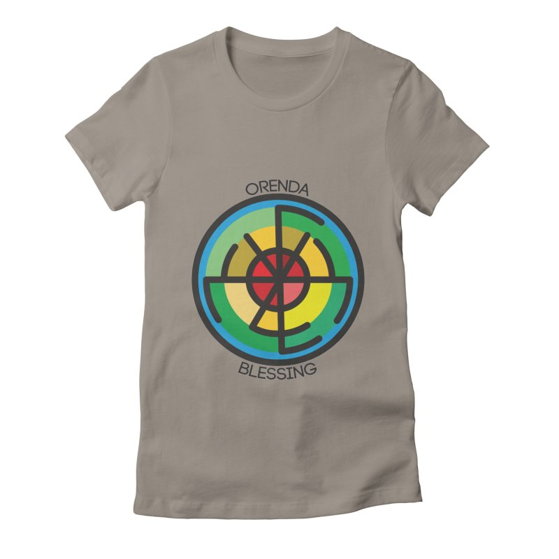 Orenda Blessing Women's Fitted T-Shirt by Hristo's Shop