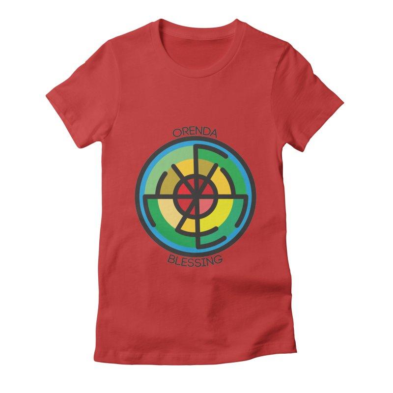Orenda Blessing Women's Fitted T-Shirt by hristodonev's Artist Shop