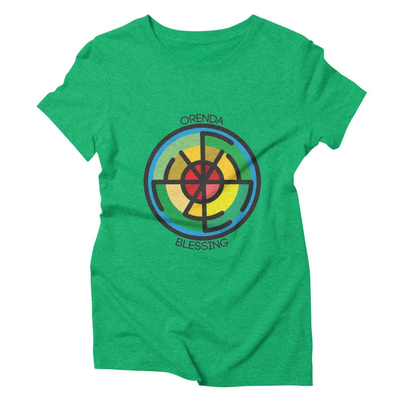 Orenda Blessing Women's Triblend T-Shirt by Hristo's Shop