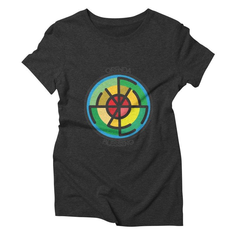 Orenda Blessing Women's Triblend T-Shirt by Hristo's Shop