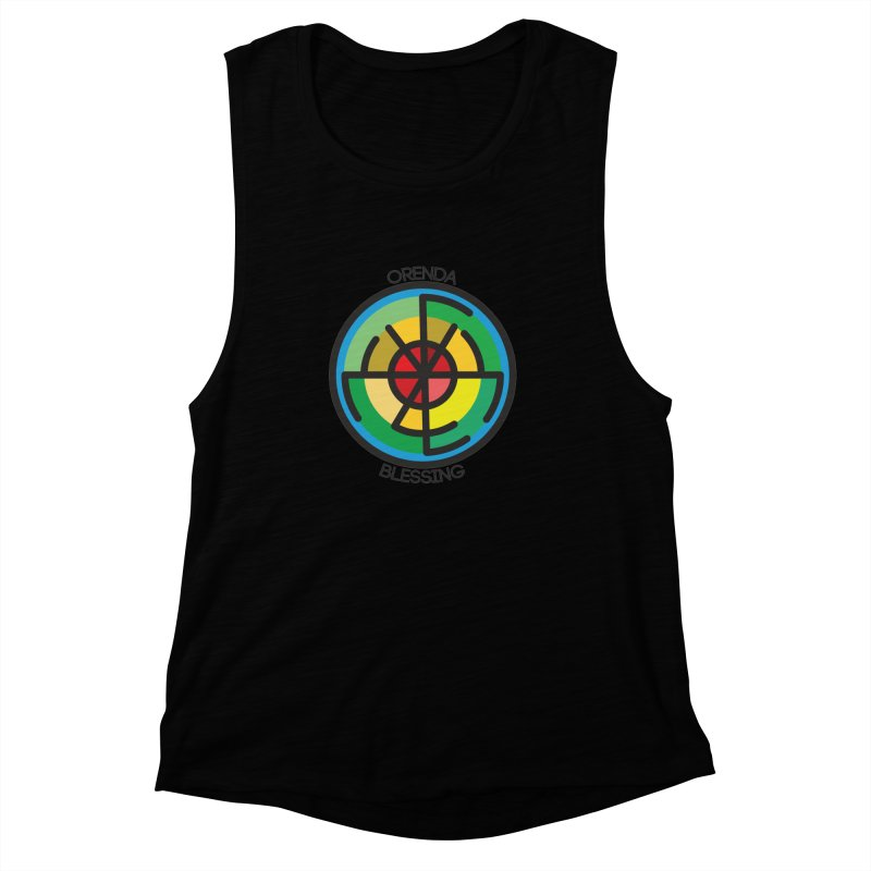 Orenda Blessing Women's Muscle Tank by hristodonev's Artist Shop