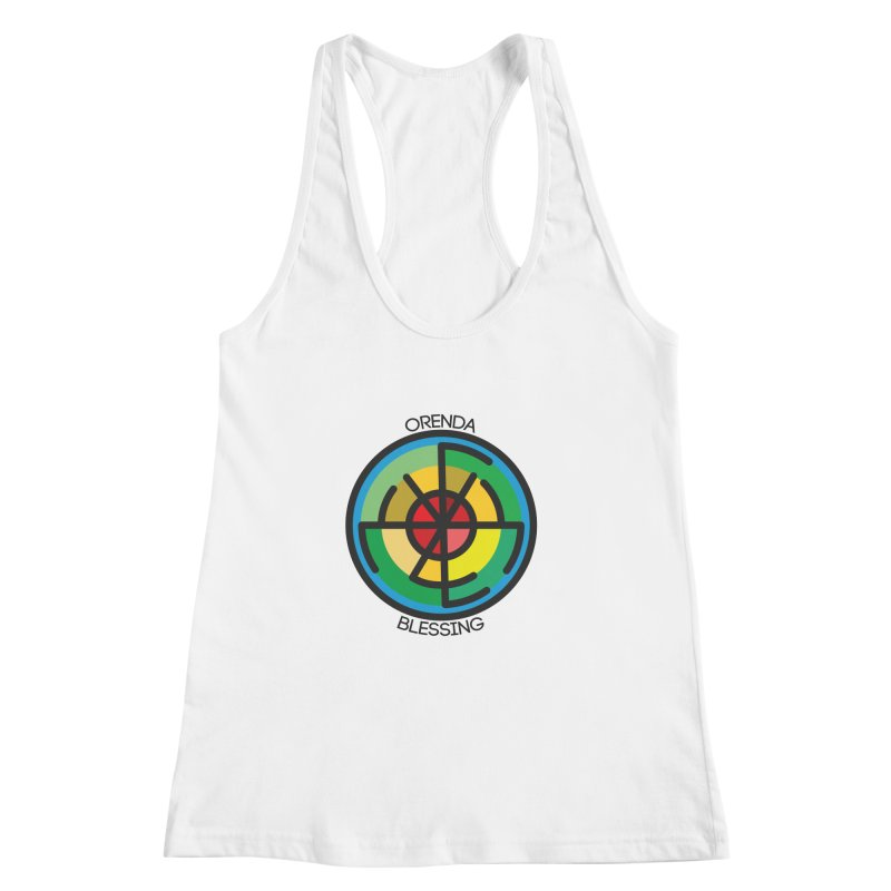 Orenda Blessing Women's Racerback Tank by hristodonev's Artist Shop