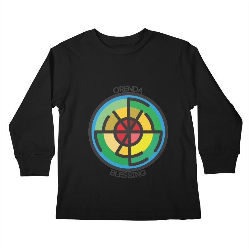Orenda Blessing Kids Longsleeve T-Shirt by hristodonev's Artist Shop