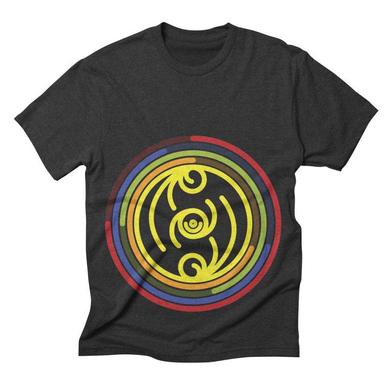 Faith Love Wisdom Men's Triblend T-shirt by hristodonev's Artist Shop