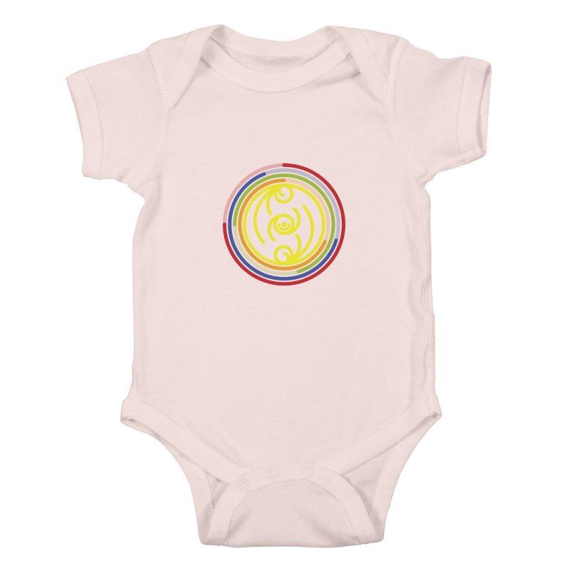 Faith Love Wisdom Kids Baby Bodysuit by hristodonev's Artist Shop